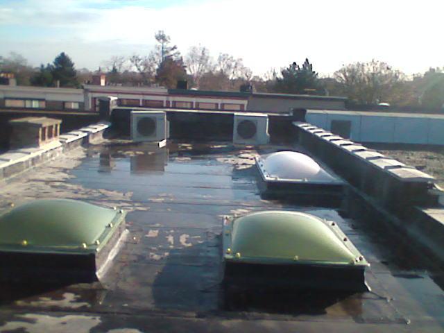 roofingdak-met-lichtkoepels